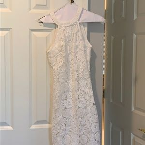 white dress from LULUS (only worn once)